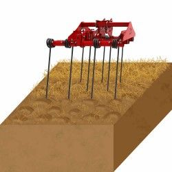 Cover ploughing back Harrow agricultural machinery
