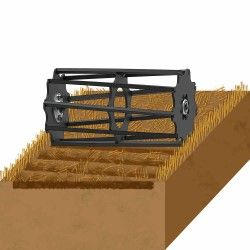 Cover ploughing back Square bar roller agricultural machinery