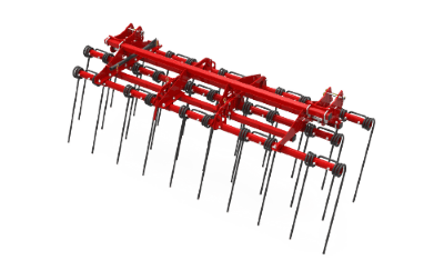 Stubble cultivator Chisel Harrow soil and field preparation