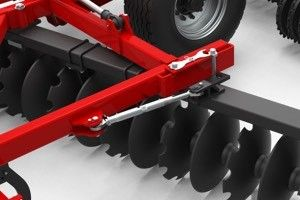 subsoiler stubble cultivator Disc gang angle machinery