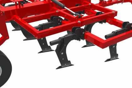 Subsoiler Reinforced hydraulics on semi-mounted equipment agricultural machinery