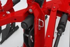 Basic mounted ploughs suspension agricultural machinery