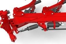 Basic mounted ploughs Hydraulic realignment agricultural machinery