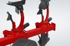 Basic mounted ploughs Adding or removing a body agricultural machinery